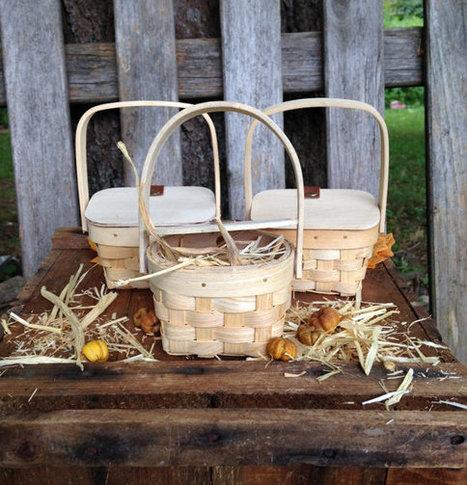Diy Rustic Fall Party Favors Mini Picnic Basket