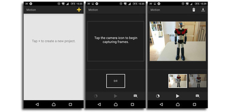Graba vídeos stop-motion con esta app llamada Motion en Android | eines video digital | Scoop.it