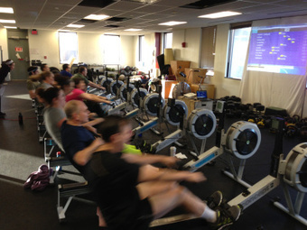 Rowing WOD 1/29/13: 8 x 500m w/ 2min Rest – Post Splits and Focus | Tiger Oars: Rowing News and Views | Scoop.it