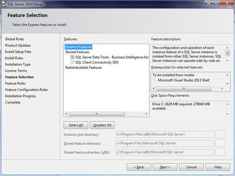 SQL Server Data Tools (SSDT) is Missing After Installing SQL Server 2014 | analytics and sql | Scoop.it