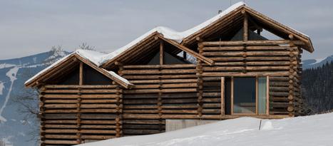 Heustadlsuite Taxhof. Architecte : Meck Architekten   Ageka les matériaux pour la construction bois.   Scoop.it