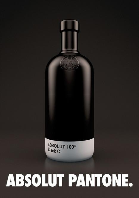 Absolut Pantone: vodka y colores Pantone unidos en un mismo packaging | El Mundo del Diseño Gráfico | Scoop.it