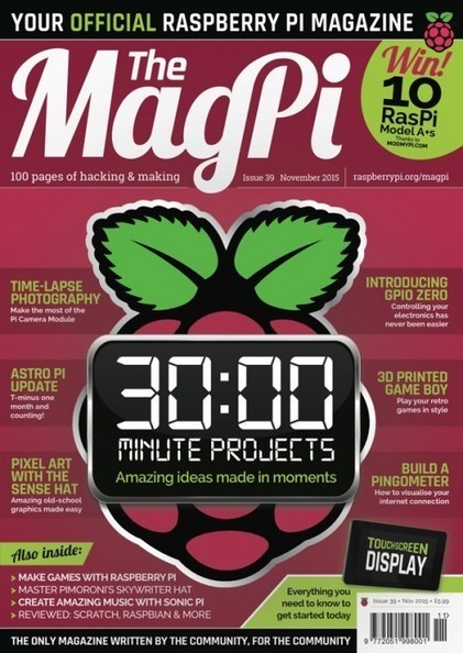 The MagPi #39 is out now! | STEM | Scoop.it