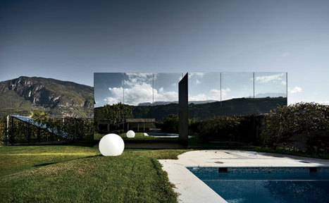 Mirror Houses by Peter Pichler Architecture   Bolzano, Italy   landscape architecture & sustainability   Scoop.it