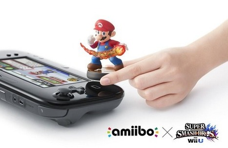 Nintendo debuts NFC-enabled figurines that import data into Wii U games, and back again | Ed Technovation | Scoop.it