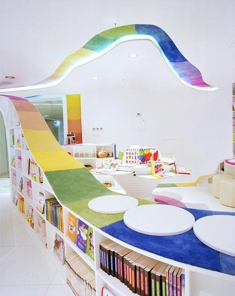 Bibliothèque pour enfants colorée - Beijing | Bibliothiki | Scoop.it