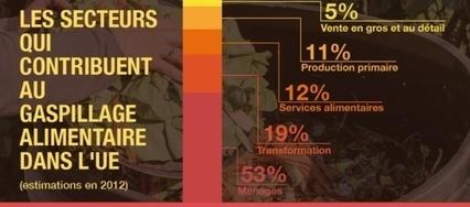 Le Parlement européen veut diviser par deux le gaspillage alimentaire