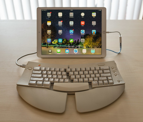 How To Use Classic Mechanical Keyboards on Modern iPads | mlearn | Scoop.it