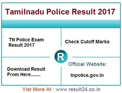 TN Police Result 2017' in govt jobs in India | Scoop it