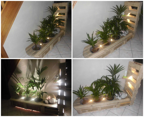 Pallet Plant Stand In 1001 Pallets Ideas