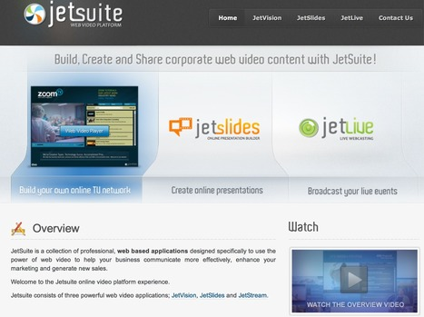 JetSuite: Web Video Platform   Online Video Provider (OVP) List   Scoop.it
