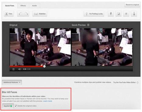 Cómo hacer borrosos los rostros de personas en un vídeo antes de subirlo a YouTube | Educando nas TIC | Scoop.it