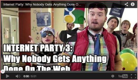 'If Famous Websites Were People': Social media explained (Video) | socialmediainterests | Scoop.it