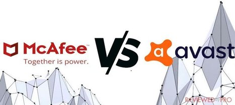 mcafee and avast together