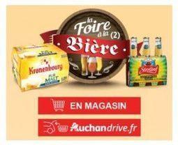 Super Bon Plan Bières Chez Auchan Et Auc
