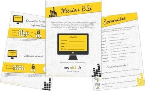 Travailler les compétences du B2i à l'école primaire avec monb2i.fr   enseignement en primaire   Scoop.it