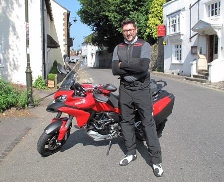 Ducati Multistrada D-air first test (well, kind of) | Ductalk Ducati News | Scoop.it