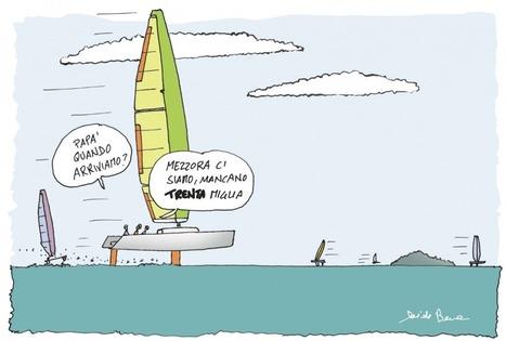 Barche da crociera volanti? La profezia di Besana si è avverata | Wing sail technology | Scoop.it