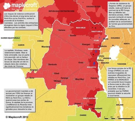 R. D. Congo : la carte de la violence - Géopolitique | Géographie : les dernières nouvelles de la toile. | Scoop.it