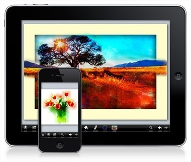 PhotoViva : Photo Editing and Freeform Painting App for iPhone, iPad and iPod Touch | Apps for learning | Scoop.it