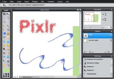Pixlr : excellent éditeur d'images en ligne   fle&didaktike   Scoop.it