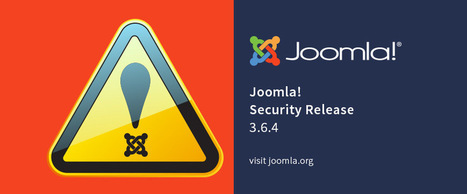 Joomla! 3.6.4 - Important Security Announcement - Patch Available Soon   Just Joomla!   Scoop.it