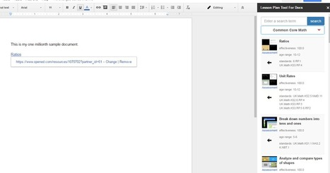 Free Technology for Teachers: A New Lesson Plan Tool for Google Docs | Teach-ologies | Scoop.it