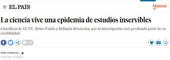 Epidemia de estudios inservibles. | Mathematics learning | Scoop.it