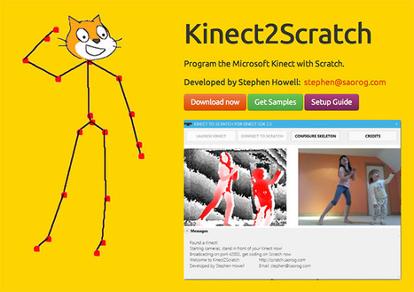Teaching kids to program using Scratch and the Kinect - Stephen Howell | 21st Century Tools for Teaching-People and Learners | Scoop.it