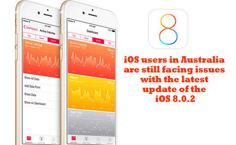 iOS users in Australia are still facing issues with the latest update of the iOS 8.0.2 | Tech Buzz | Scoop.it