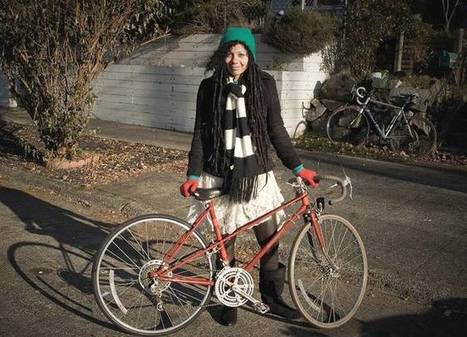 """Biking or walking may be the secret to a happier life (""""less stressful than driving & public transpo"""") 