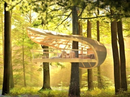 E'terra Samara is an Amazing Treehouse Retreat Designed for the Forests of Canada | It´s about Architecture | Scoop.it