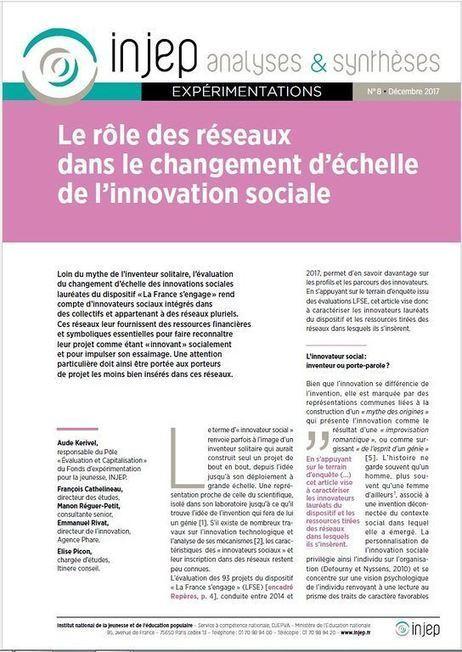 Entrepreneuriat Social Innovation Sociale Et Egalite