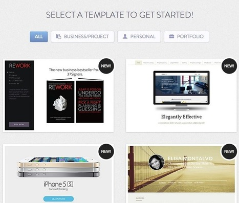 CristinaSkyBox: Creating Websites | Tools for  Teaching | Scoop.it