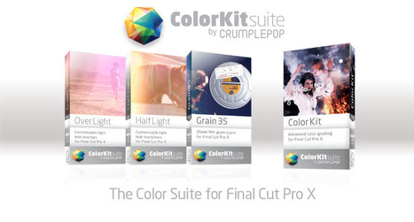 ColorKit Suite | Final cut pro plugins & video effects - CrumplePop FCP effects | DSLR video and Photography | Scoop.it