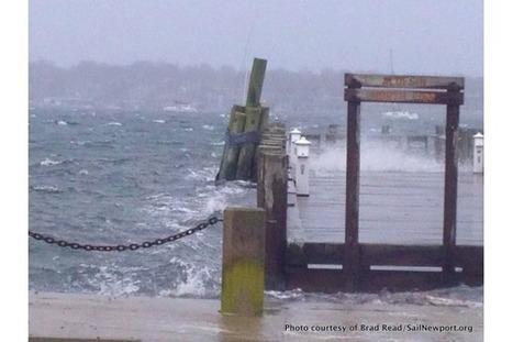Hurricane Sandy Arrives in Newport | Rhode Island Harbors | Newport, RI | Scoop.it