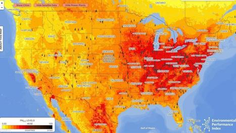 How dirty is your air? This map shows you | COMPUTATIONAL THINKING and CYBERLEARNING | Scoop.it