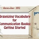 Organizing Vocabulary for Communication Books ... - PrAACtical AAC | Beginning Communicators | Scoop.it