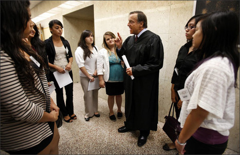 Students Answer to Peers in L.A.'s Teen Courts | Thinking about Digital Citizenship | Scoop.it