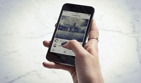 Tunepics social App lets you share Photos with song Clips   Technology in Business Today   Scoop.it