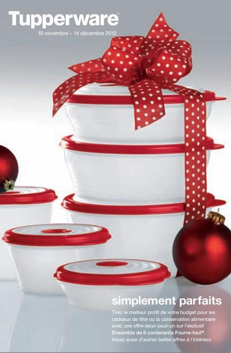 Catalogue & spéciaux Novembre 2012 | Tupperware – Mélanie Therrien | Tupperware, pourquoi pas ? | Scoop.it