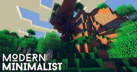Modern Minimalist Resource Pack for Minecraft 1