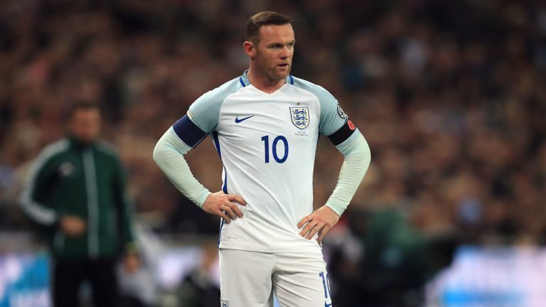 Wayne Rooney Arrives At England Camp Ahead Of