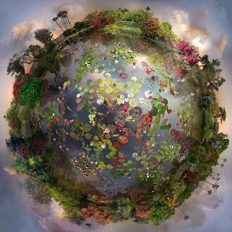 "Magical Composites with an ""Earth View"" 