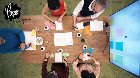 Paper4Everyone puts teamwork on the table and screen | Dave LeClair | GizMag.com | Misc Techno | Scoop.it