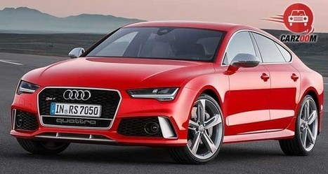 Audi RS7 Sportback - Image Gallery | Boot Space, Dashboard, Interiors and Exteriors View - carzoom.in | Cars | Mobiles | Coupons | Travel | IPL | Scoop.it