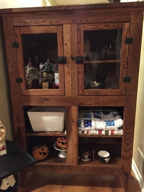 Pallet Kitchen Cabinets In Pallet Wood Projects Scoop It