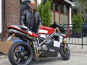 Canadian Chris Willenberg rides from Toronto to LA  on a Ducati 996 to raise diabetes awareness | Ductalk Ducati News | Scoop.it