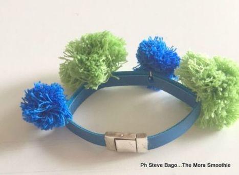 How to make a fashion DIY Pom-Pon bracelet! | Fashion DIY and more... | Scoop.it