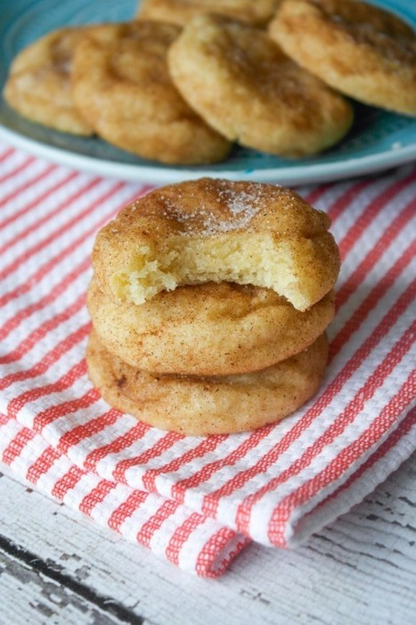 Soft and Thick Snickerdoodle Cookies | The Man With The Golden Tongs Hands Are In The Oven | Scoop.it